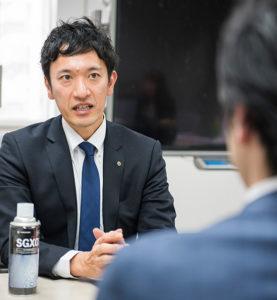 営業先輩インタビュー01